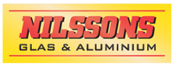 Nilssons Glas & Aluminium Logotyp
