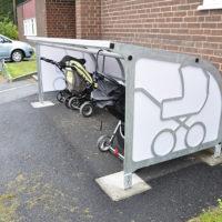 Barnvagnsgarage